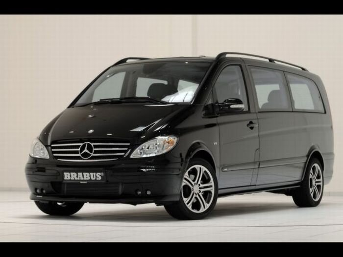 Brabus Mercedes-Benz Viano Lounge - hi-tech офис на колесах (18 фото)