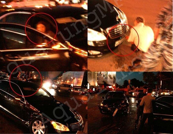 Авария на Тверской, опять синие мигалки (13 фото + видео)