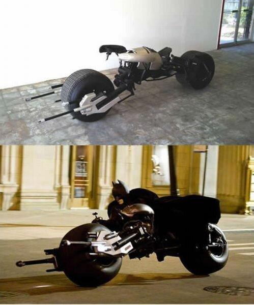 Точная копия байка Бэтмена (10 фото)