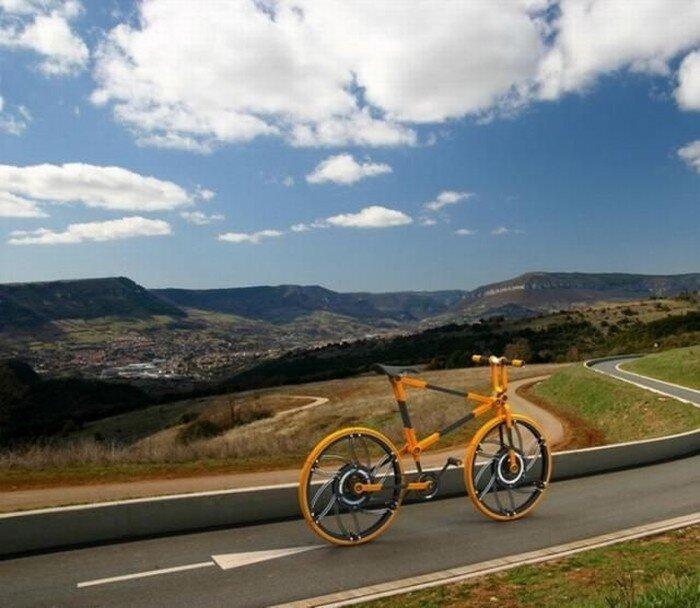 Прикольный велосипед (12 фото)