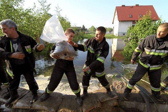 Наводнение в Варшаве (11 фото)