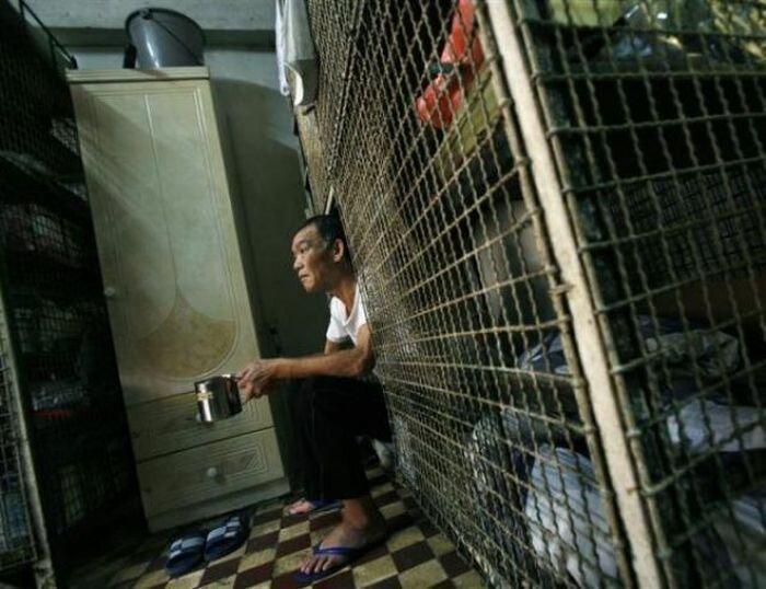 Бездомная жизнь в Гонг-Конге (18 фото)