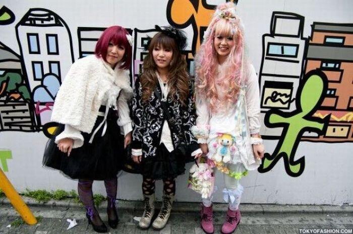 Мода в Токио не такая как везде (77 фото)