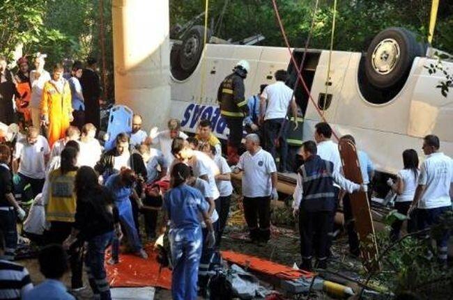 Авария автобуса в Турции с российскими туристами (47 фото+видео+текст)