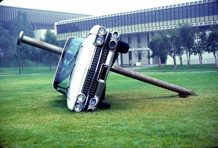Нелепое и ироничное автоискусство Дастина Шулера (46 фото)