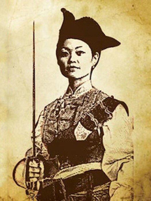 Госпожа Чжэнь — самая известная женщина-пират в Китае