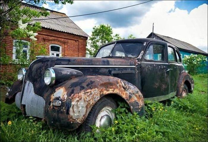 Музей старых автомобилей (16 фото)