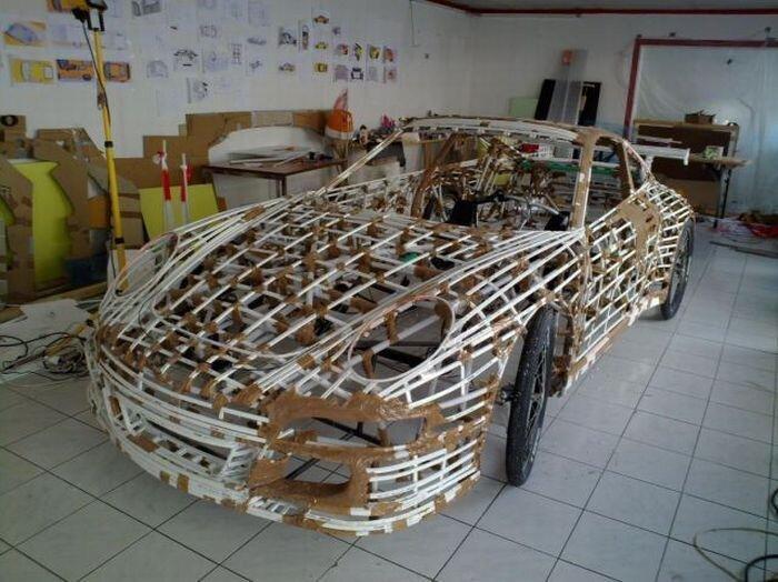 """Самый экономичный """"Porsche 911"""" своими руками (44 фото + видео)"""