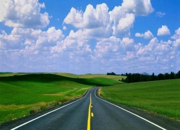 Красивые фотографии дорог (16 фото)