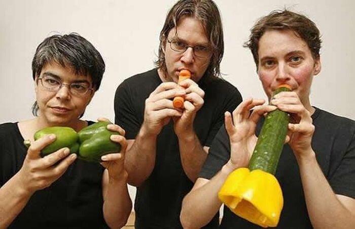 Овощная музыка (5 фото)