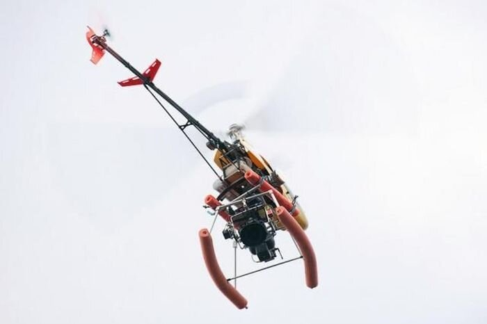 Вертолет-кран МИ-10К (18 фото)