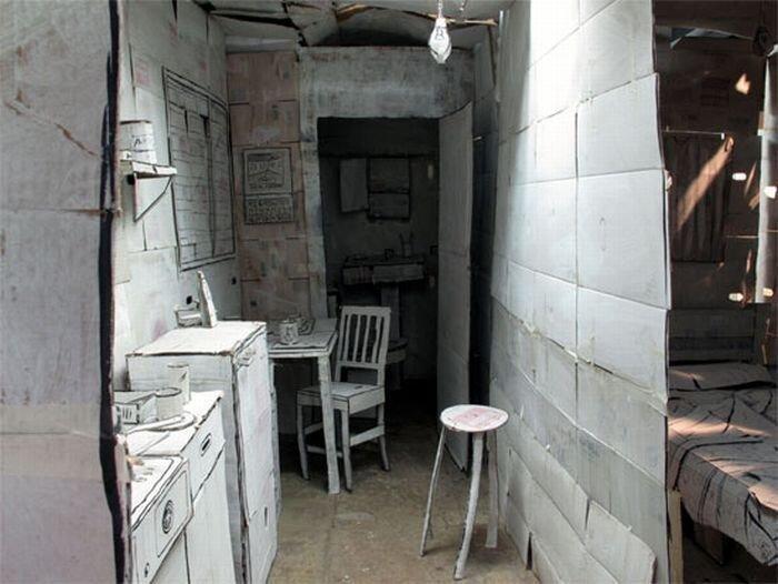 Бумажная квартира (7 фото)