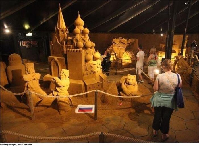 Фестиваль песчаных скульптур в Бланкенберге (24 фото)