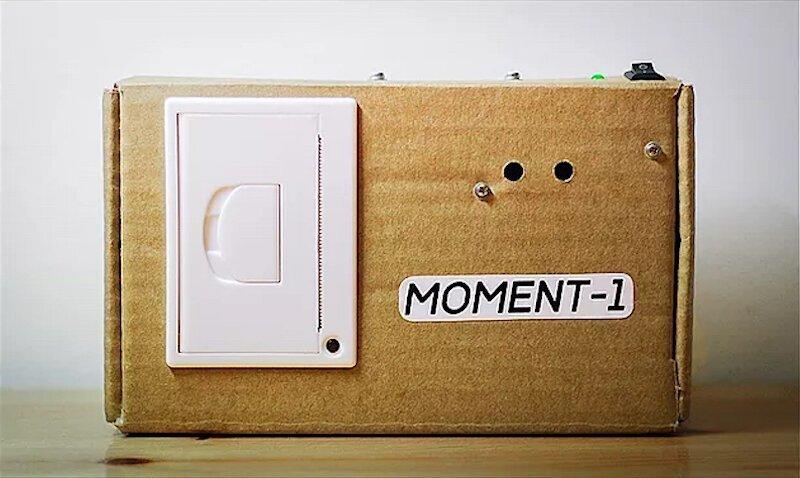 Петербуржец сделал фотоаппарат, печатающий на чеках