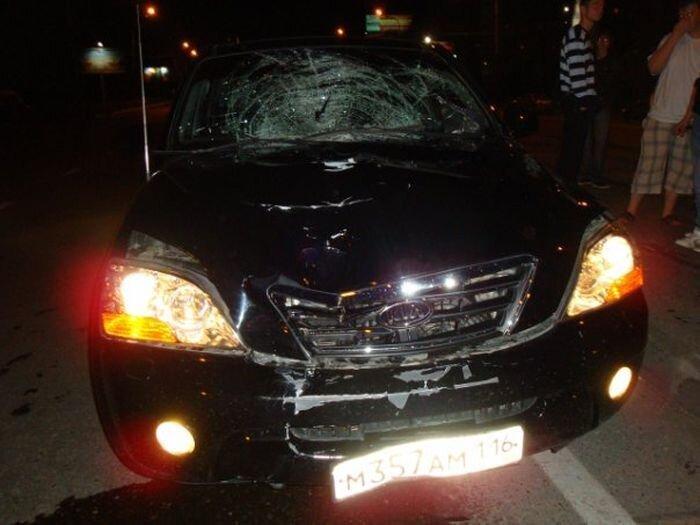 В Казани федеральный судья сбил насмерть пешехода (2 фото+2 видео)