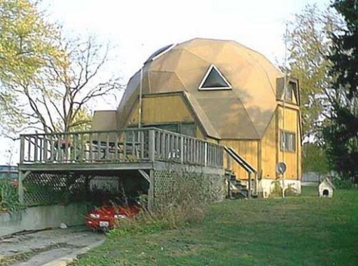 Очень необычные дома (20 фото)