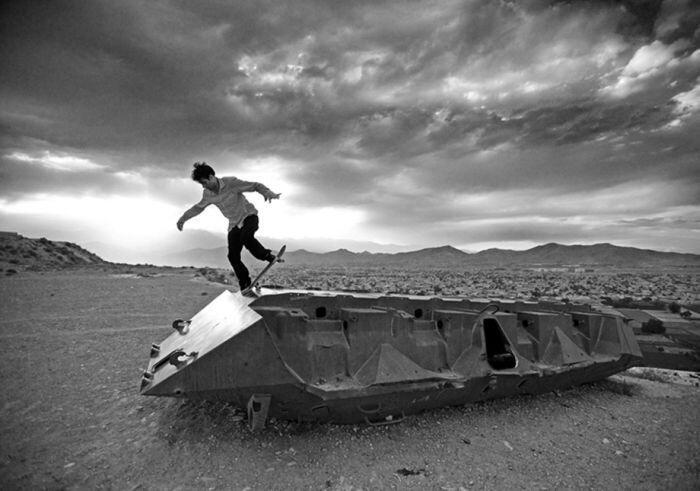 Скейтеры в Афганистане (9 фото)