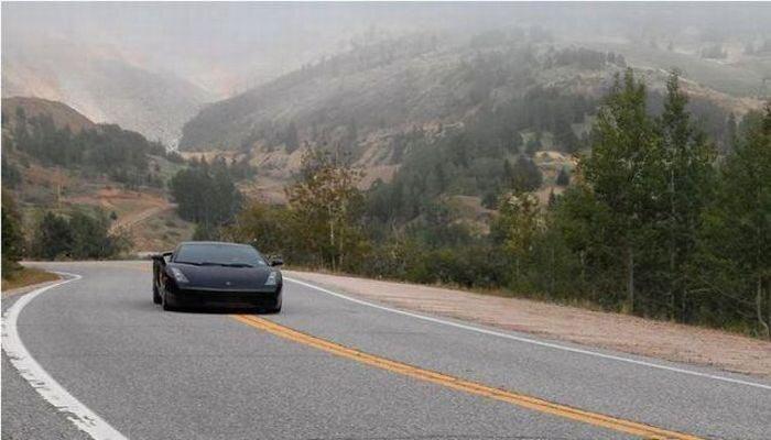 Для путешествия по США на Lamborghini Gallardo американец продал все (23 фото) за 15 июня 2010