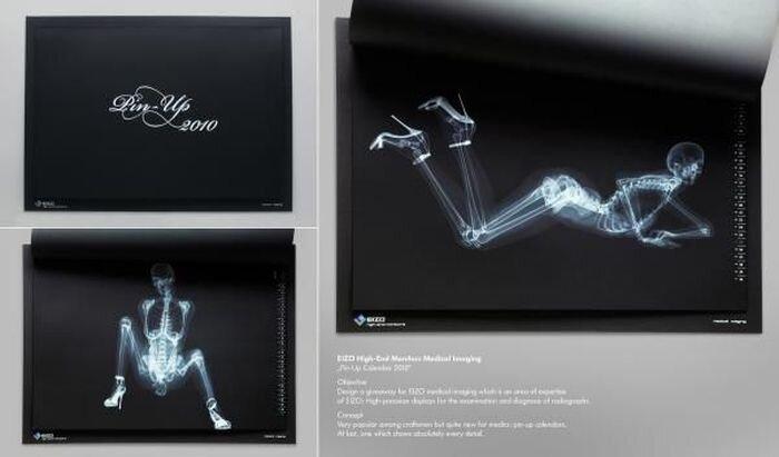 Календарь для поставщика рентгенов (15 фото)