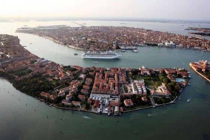 Венеция с высоты птичьего полета (12 фото)
