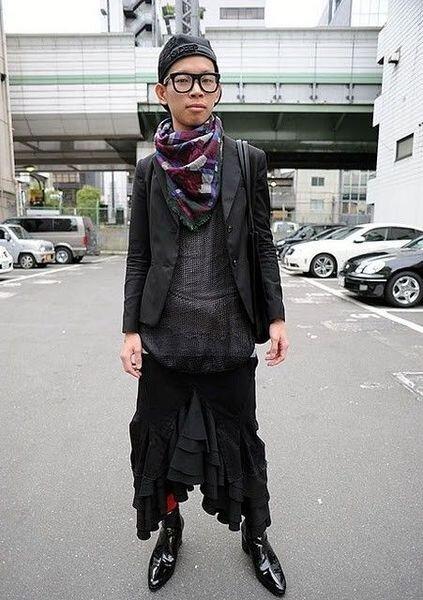 Японские модники (38 фото)