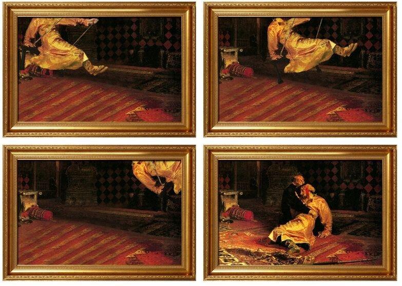 Фотожаба на известные картины (10 фото)