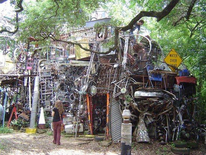 Храм мусора в Техасе (10 фото)