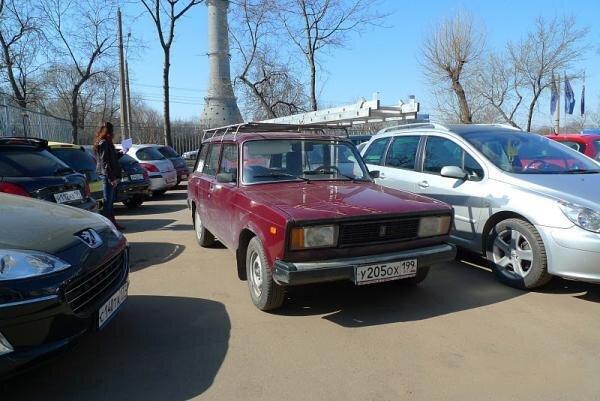 Вазовский суперкар (4 фото)