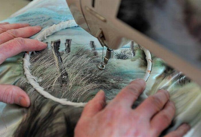Вышивание фотографий (14 фото)