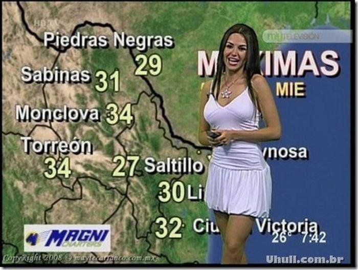 Самые сексуальные ведущие прогнозов погоды (76 фото)