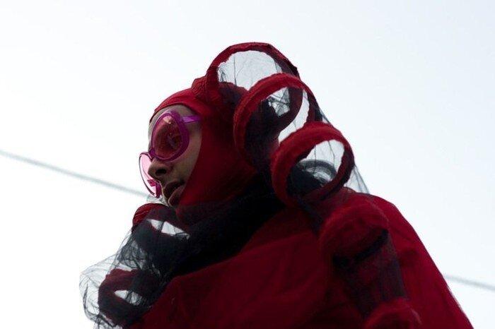 Клоуны в центре Москвы (31 фото)