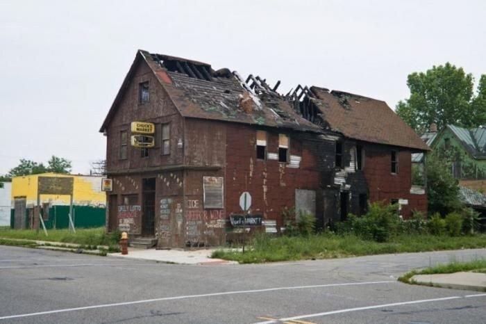 Руины Детройта (13 фото)