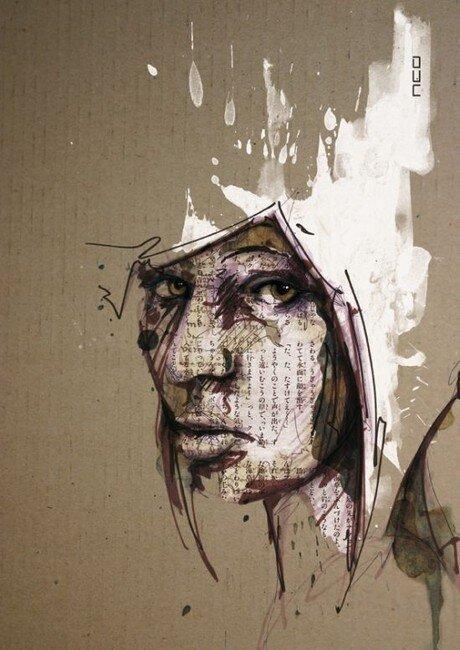 Рисунки Флориана Николле (36 фото)