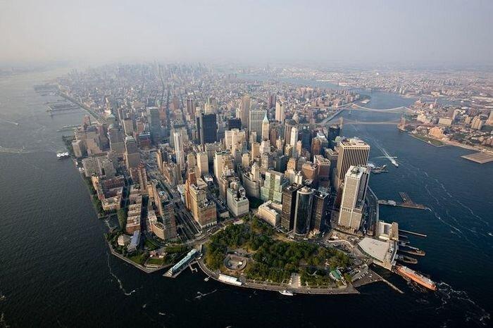 Нью-Йорк с высоты (45 фото)