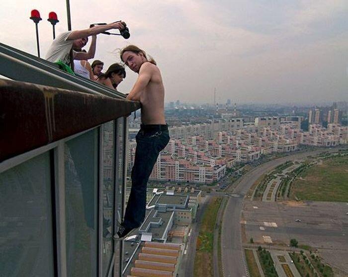 Московские руферы (9 фото + видео)