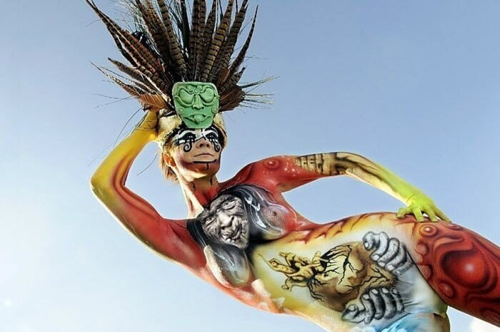 Фестиваль боди-арта в Германии (14 фото)
