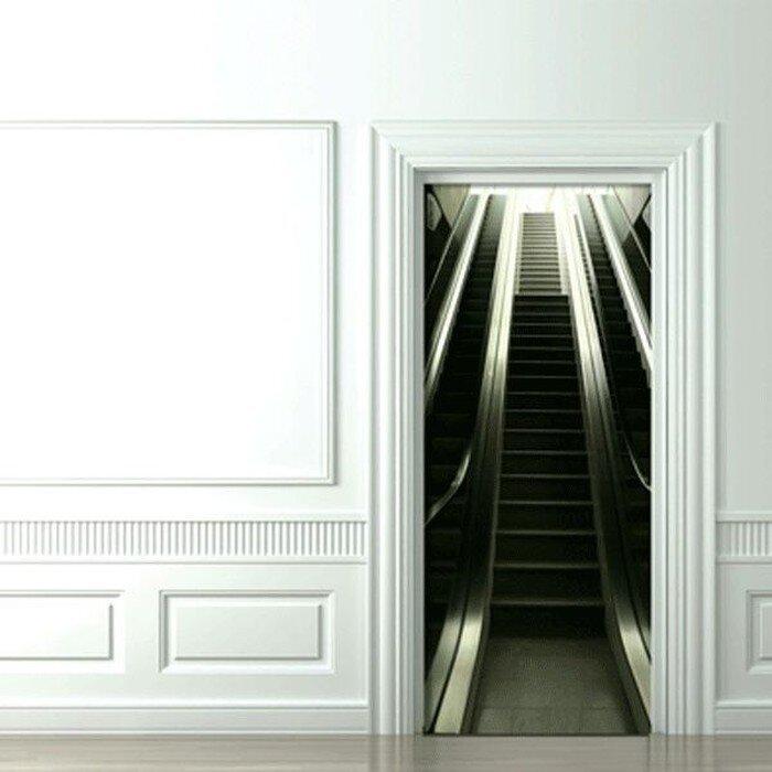Наклейки на дверь (8 фото)