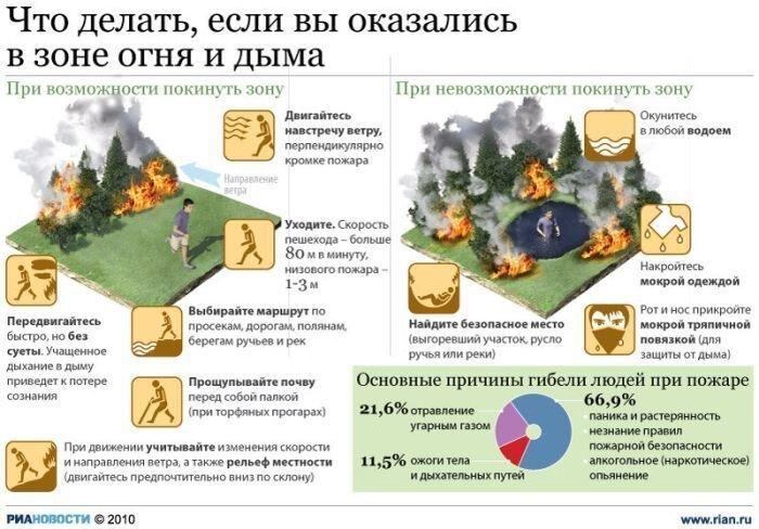 Россия полыхает (80 фото + 3 видео)
