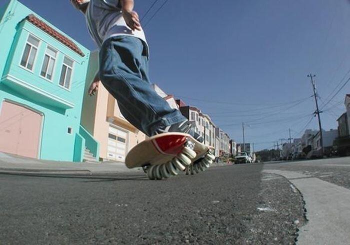 Flowboard — сёрф на скейте (3 фото + видео)