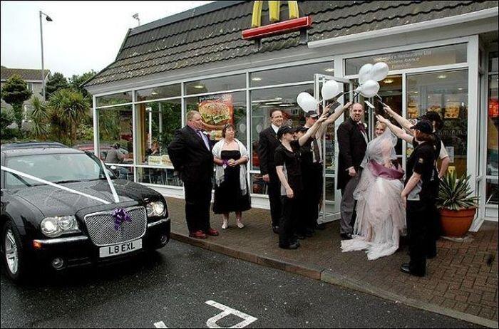 Нетрадиционные свадьбы (43 фото)
