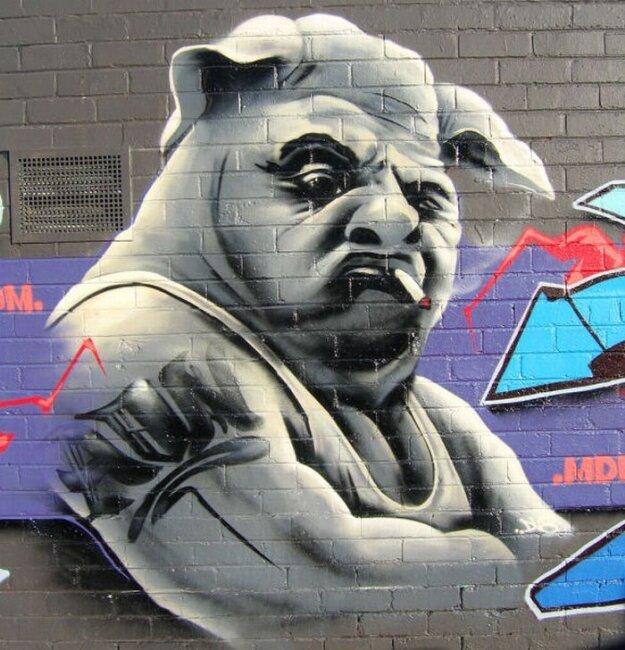 Красивое графити (64 фото)