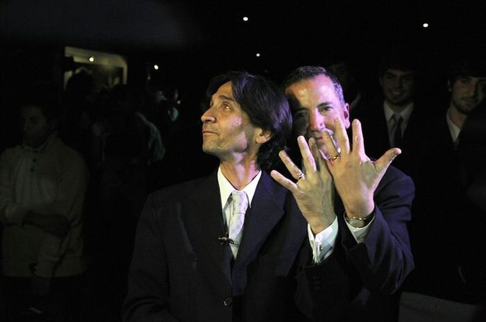 Однополые браки (26 фото)