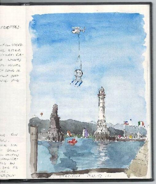 Улыбчивый маяк (5 фото)