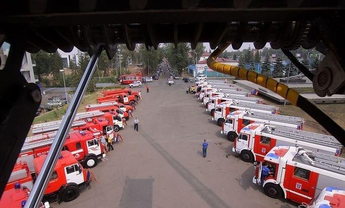 Большая победа российских пожарников (1 фото+текст)