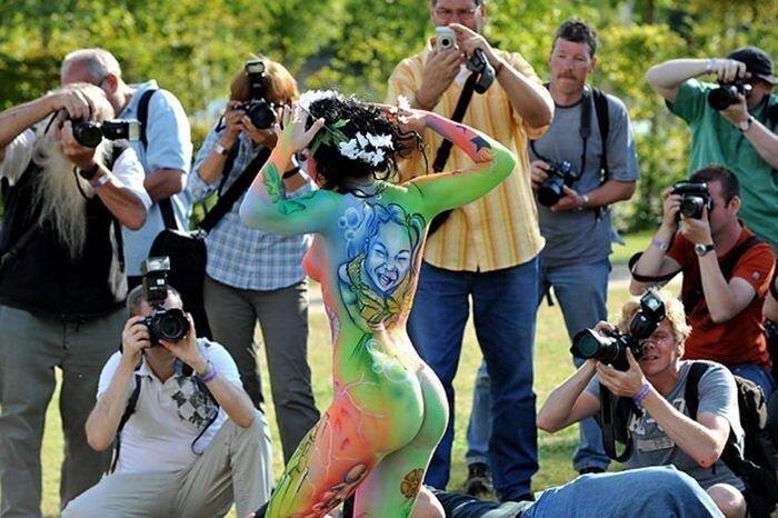 Международный фестиваль боди-арта в Австрии (70 фото)
