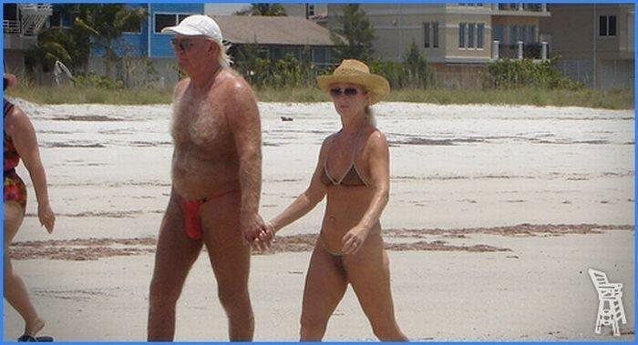 Самые стремные посетители пляжей (18 фото)
