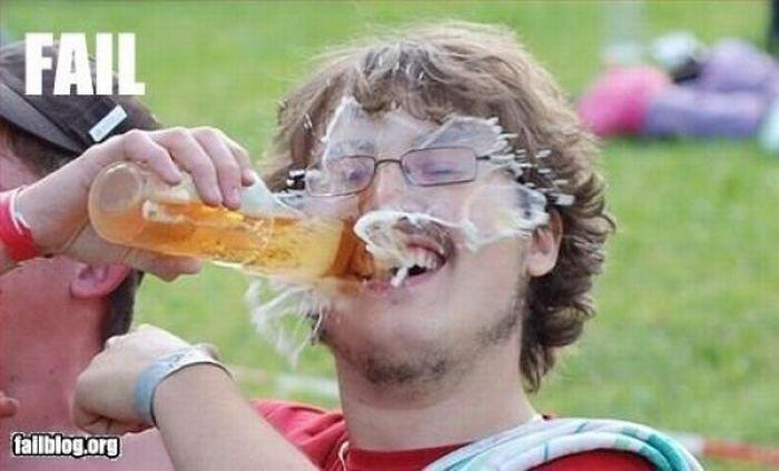 Неудачи, которые происходят по-пьяни (23 фото)