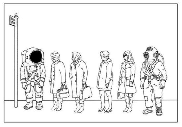Возвращение космонавта на Землю (11 фото)