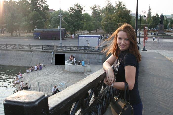 Прогулка по Москве (4 фото)