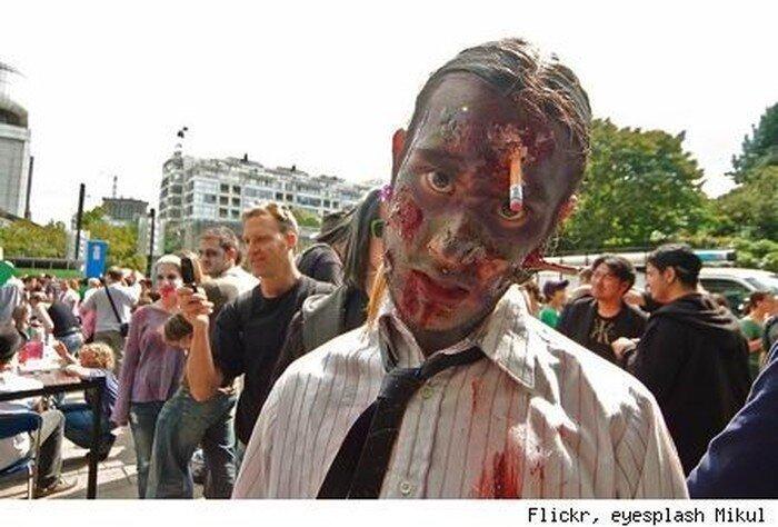 Потрясающий зомби-грим (35 фото)